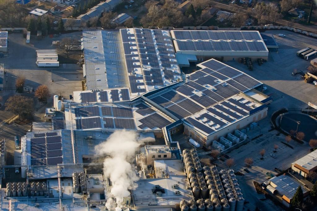 Sierra Nevada Brewery Solar